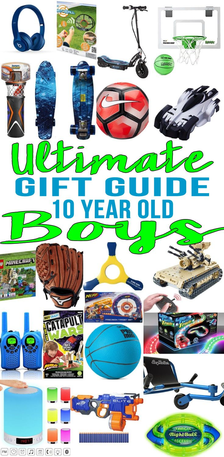 Best Gifts 10 Year Old Boys Want