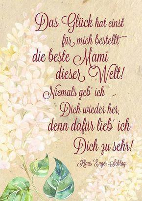 Muttertagsgedichte » 20 Muttertagssprüche zum DownloadMartina Pech