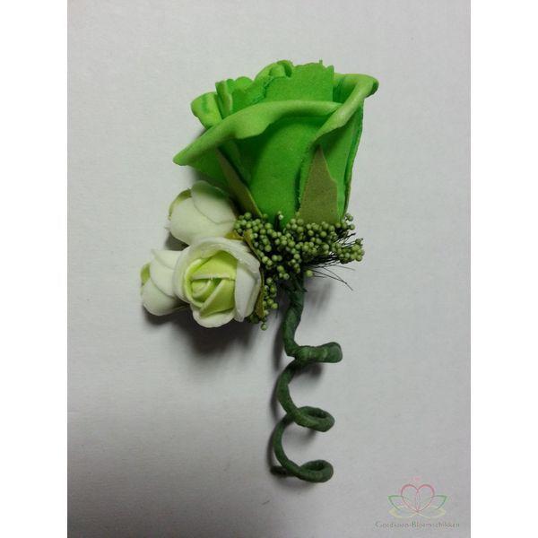 Corsage Roos CEM 31  #Bloemschikken #Decoreren  goedkoop-bloemscikken.nl