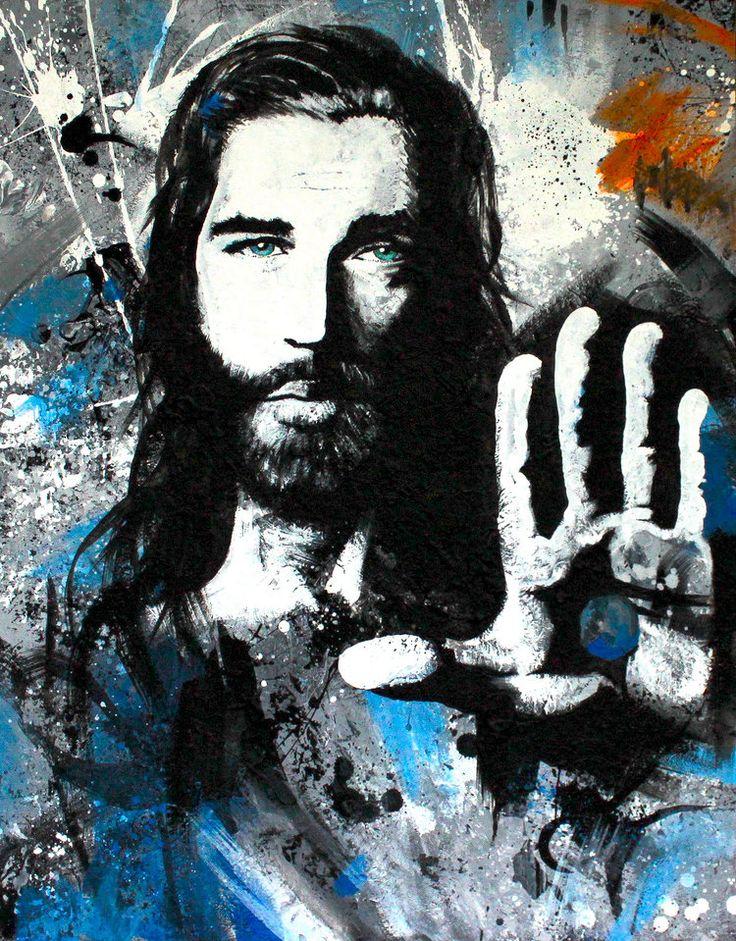 картинки граффити иисус пришла валентино быстро