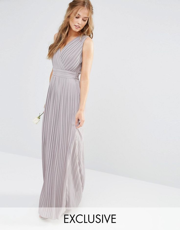 Not maternity though :S  TFNC+WEDDING+Pleated+Wrap+Maxi+Dress
