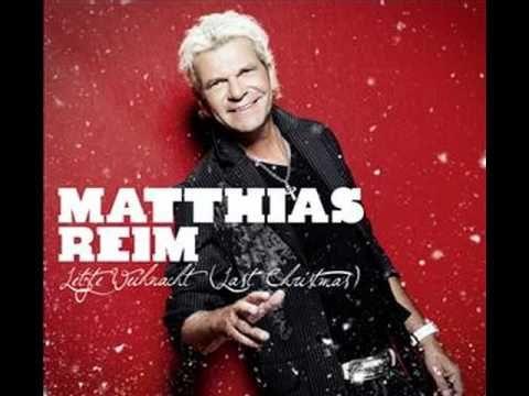 Matthias Reim Letzte Weihnacht (Dance Mix) Ich liebe dieses Lied.