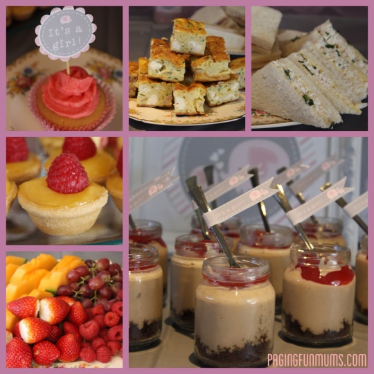 Adorable Party Food for Baby Shower