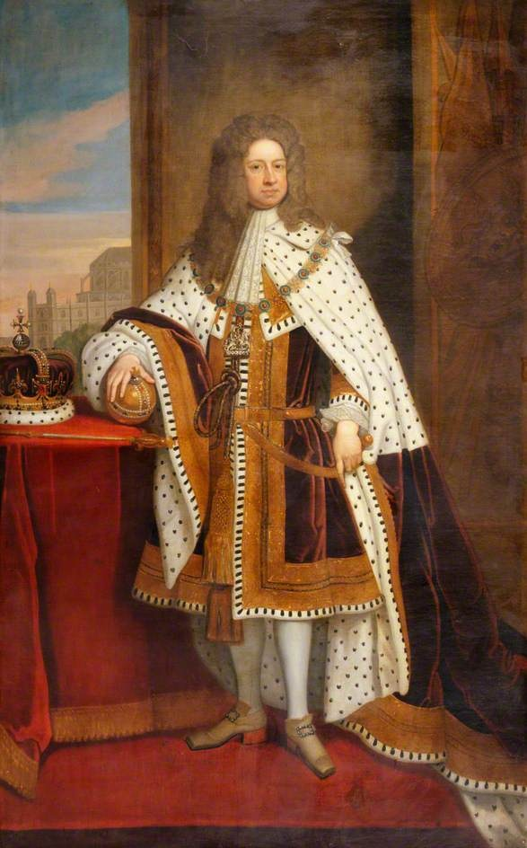 King George I (1660–1727), King 1714-1727 by Godfrey Kneller