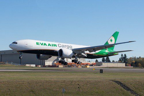 EVA Air Cargo takes delivery of first 777 freighter at Boeing Paine Field -   Air Cargo World (@ACWmagazine) | Twitter
