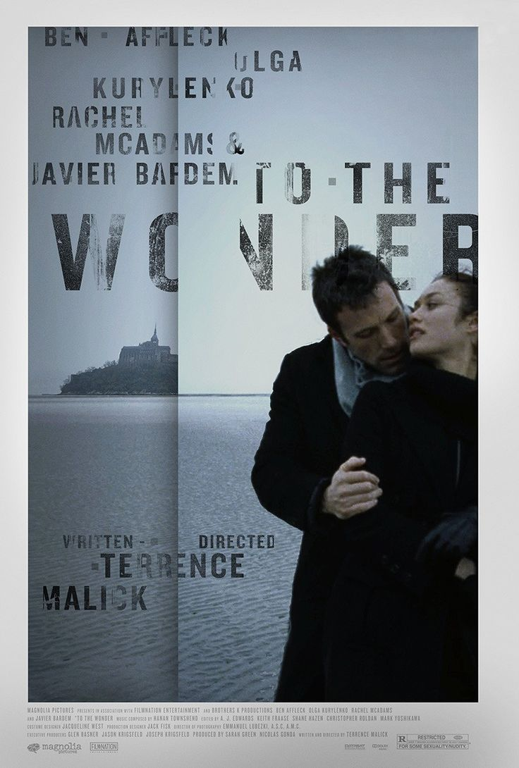 TO THE WONDER theatrical poster