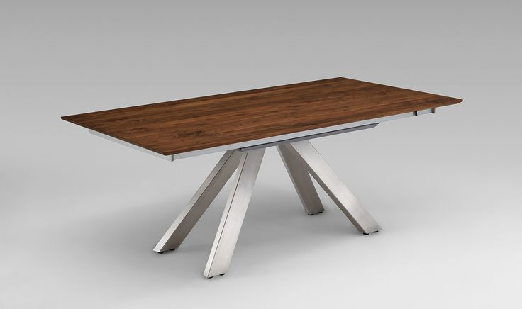 """Venjakob ET665 Extendable Dining Table with """"Easy-front-Slide"""""""