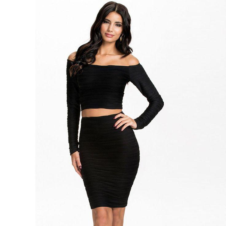 Skirt Set Black | Dress Journal