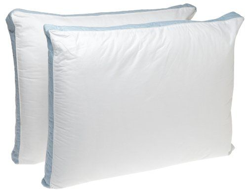 Perfect Fit Firm Density King Size 233 Thread-Count Quilted Sidewall Pillow 2 Pack, White -- Learn more by visiting the image link.