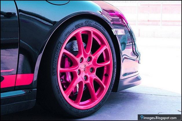 Car, wheel, pink, vehicles   9images