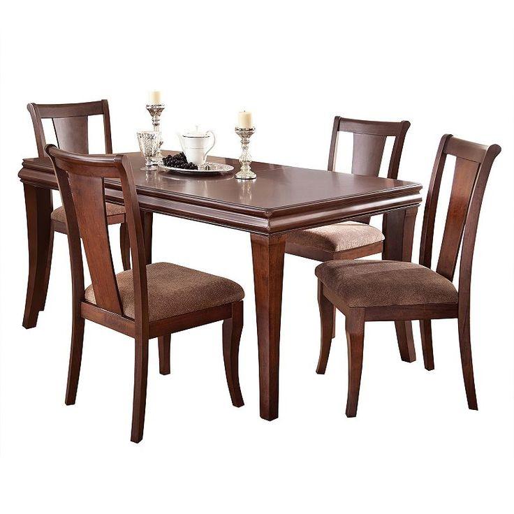 Branton Home Aubrey Dining 5 Piece Set In 2020 Dining Table