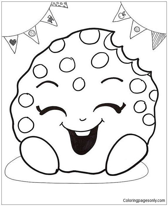 Free Shopkins Coloring Pages Cute Cake Shopkins Coloring Page Free Coloring Pages Line Cute Coloring Pages Shopkins Colouring Pages Minion Coloring Pages