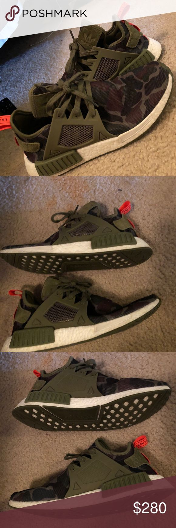 EUC limited edition olive cargo adidas NMD 2016 NMD limited edition olive cargo. Excellent condition. Ship same or next day. adidas Shoes Sneakers