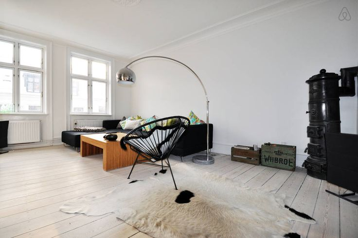 Copenhagen modern design apartment rental