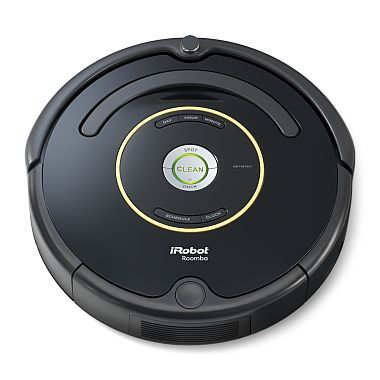 The iRobot Roomba 650 Vacuum Cleaning Robot brings on-board scheduling to the standard-setting Roomba. With AeroVac™ Technology, Roomba 650 easily handles fibers like hair, pet fur, lint and carpet fuzz.