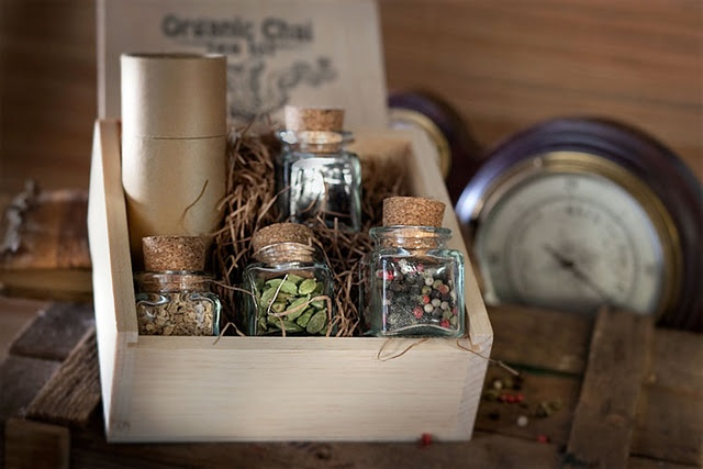 Chai Tea Kit: Do It Yourself Gifts, Gifts Baskets, Gifts Ideas, Teas Gifts, Diy Gifts, Handmade Gifts, Elegant Chai, Chai Heat, Hands Made Gifts