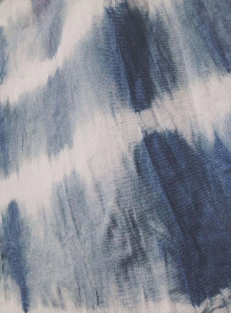 LOOM indigo tiedye #loom #loomfabric #indigo #tiedye