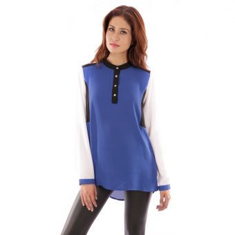 Blusa Le minuit Fiona-Multicolor #leminuit #liniofashionco #summer #verano #trends #girl #cool #color #blue #loveit