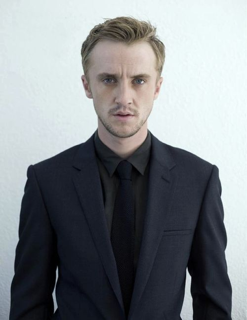 Tom Felton; he finally looks his age and not 47