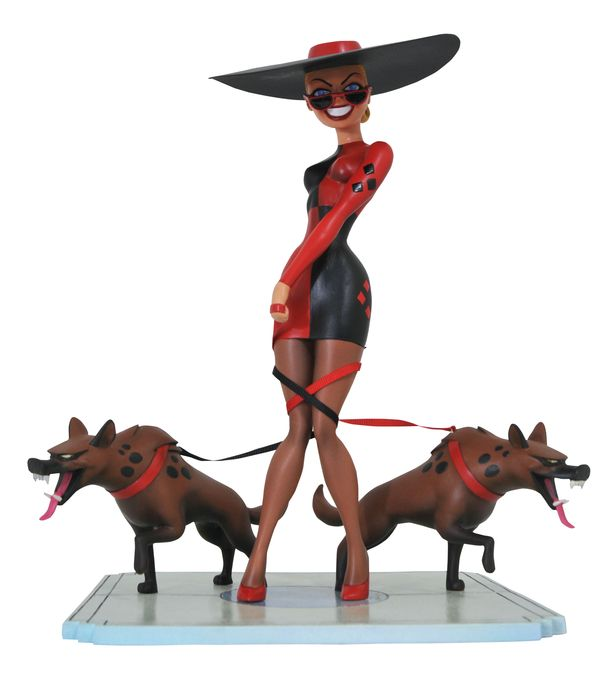 Batman: The Animated Series Premier Collection Harley's Holiday Statue
