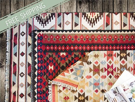 Spice Up Your Decor with On-Trend Tribal Rugs on THEHOME.COM.AU