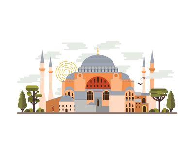 Landmarks of Istanbul - Hagia Sophia