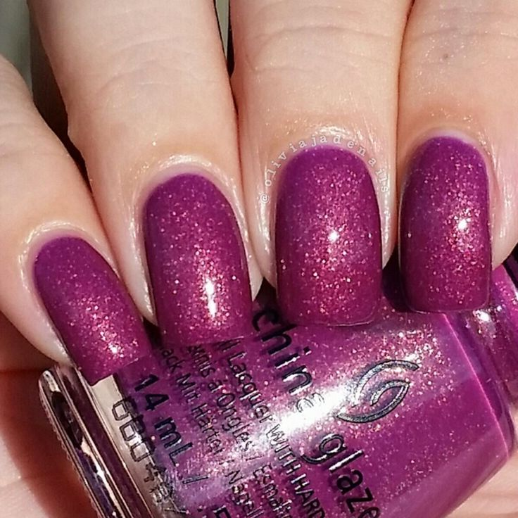 China Glaze We Got The Beat swatched by Olivia Jade Nails