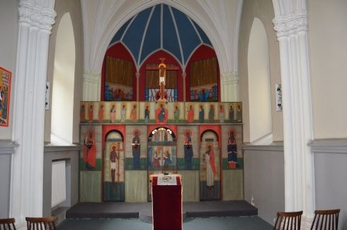 Nowosielski, ikonostas, Lublin