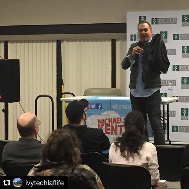 Thank you Ivy Tech! #Repost @ivytechlaflife  What a fantastic show. Thank you @michaelkent ! #magic #magician #comedymagic #entertainment #eventprofs
