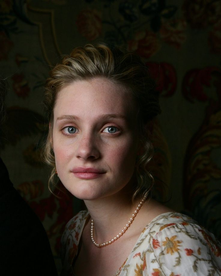 Romola Garai as Emma - BBC adaptation of the Jane Austen novel - 2009 Her skin is absolutely perfect.