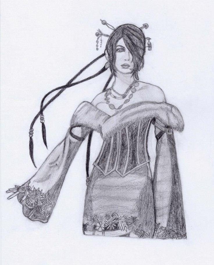 Lulu - Final Fantasy Dessin - Draw - Graphites Drawings by Sabrina F.