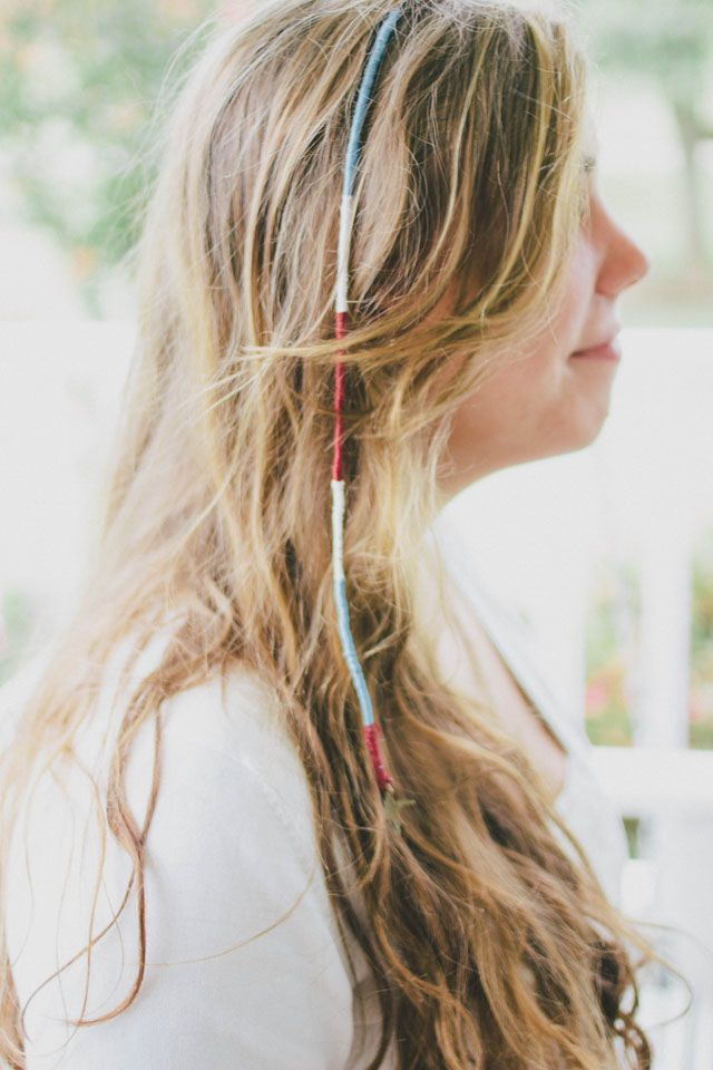 how to make a hair wrap on yourself