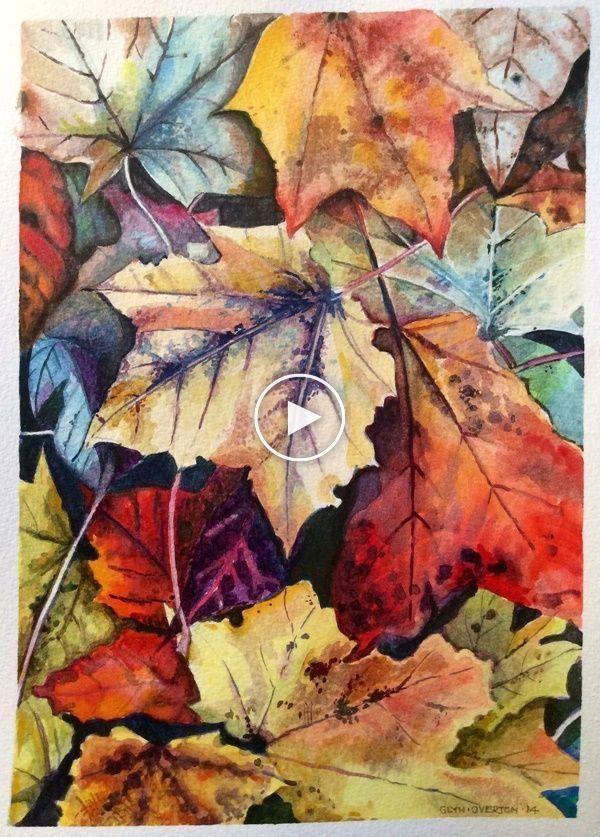 40 Easy Watercolor Painting Ideas For Beginners Suluboya Cicekler Suluboya Resimler Cizimler