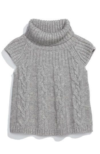 United Colors of Benetton Kids Cap Sleeve Turtleneck Sweater (Toddler)