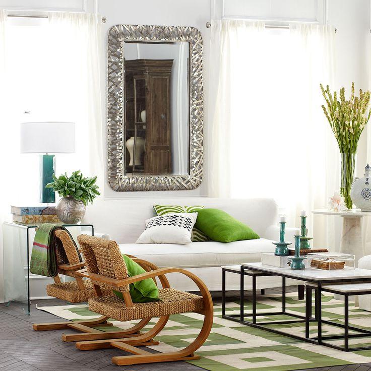 Best Nest Mirror. Green Living RoomsLiving ...