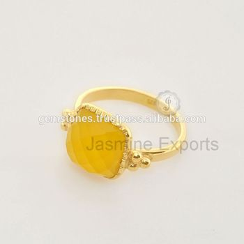 Wholesale Semi Precious Gemstone Bezel Ring, 925 Sterling Silver Vermeil Gold Plated Ring  #sterlingsilverring #semipreciousring #gemstonering #18kgoldring #jasmineexportsjewelry #alibabajewelry #beautifulring #wholesalesupplierring #wholesalesilverjewelry #birthdaygift #18kgoldjewelry #handmadejewelry