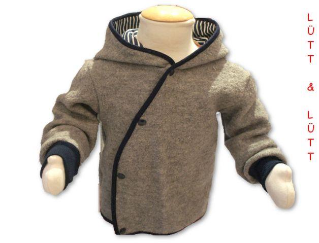 Jacken - Walkjacke Gr. 62-116 - ein Designerstück von luettunluett bei DaWanda