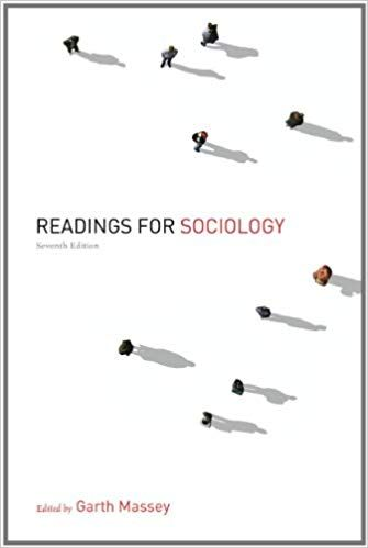 readings for sociology 7th edition massey test bank