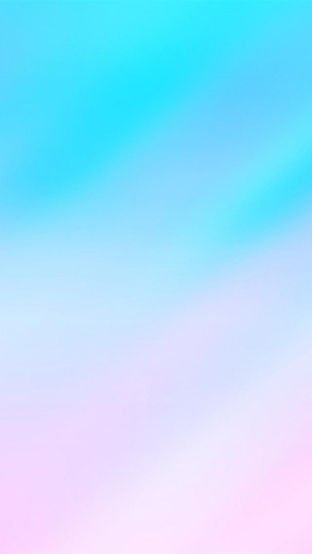 Light Blue & Pink. Collection of Calming Ombre iPhone