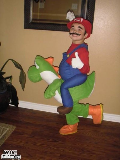 AMAZING kids costumes!  Super Mario!