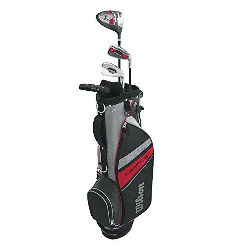 Wilson 2017 Profile Complete Junior Golf Set with Golf Bag