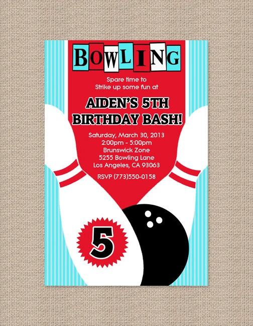 25 best Bowling Birthday images on Pinterest Bowling party - bowling flyer template