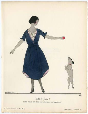 """Women 1921, Plate 003. Fashion plates, 1790-1929. The Costume Institute Fashion Plates. The Metropolitan Museum of Art, New York. Gift of Sally Victor (b17509853)   The caption reads """"hop la!"""" #fashion"""
