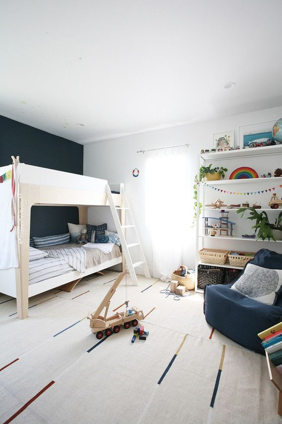 Modern, natural shared boys room | Nursery + Kids Room Decor | 100 Layer Cakelet