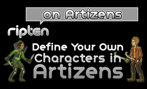 "Ripten on the video game Artizens: Define Your Own Characters in Artizens. ""Here's a neat thing I've been completely missing out on: Artizens. The PC game- being developed by Artizen's Inc- is an online, multiplayer, 2D game done in the style of Monster Hunter. What makes the game particularly unique is that it let players visually design their own equipment- from swords to shoes."" Read more by clicking the picture!"