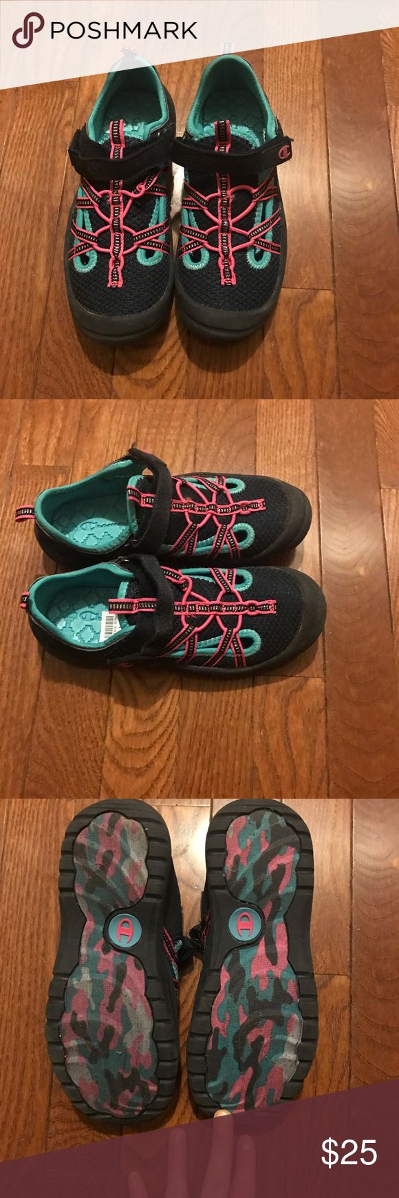 New (no Box) Girls Tennis Shoes New (no Box) Girls Tennis Shoes Size: 1 Comes From a Smoke and Pet Free Home Champion Shoes Sneakers