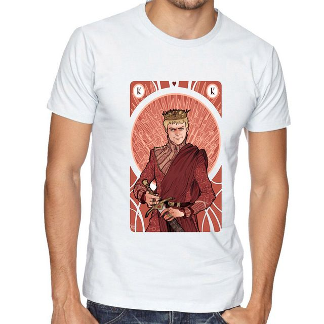 Special offer Newest Men Fashion Short Sleeve Game of Thrones Painting T-shirt Harajuku Casual Tee Shirts King Joffrey Baratheon T Shirt just only $11.84 with free shipping worldwide  #tshirtsformen Plese click on picture to see our special price for you