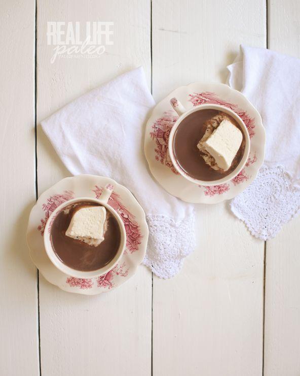 Guest Post: Peppermint Hot Chocolate - Danielle Walker's Against All Grain
