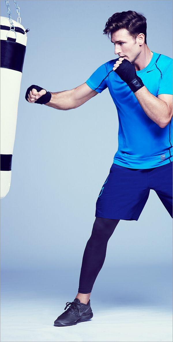 Nike's got all the knockout performance wear he needs to get through any obstacle that's thrown at him