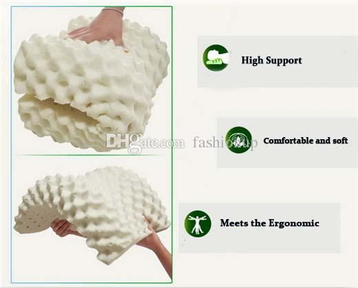 Massage Pillow Latex Pillow Massage Neck Pillow Case Natural Adults Bedding One Seat Wave Cotton Health Care Thailand Real Photos Granule Pillow Cover Pillow Sham From Fashionup, $51.63| Dhgate.Com